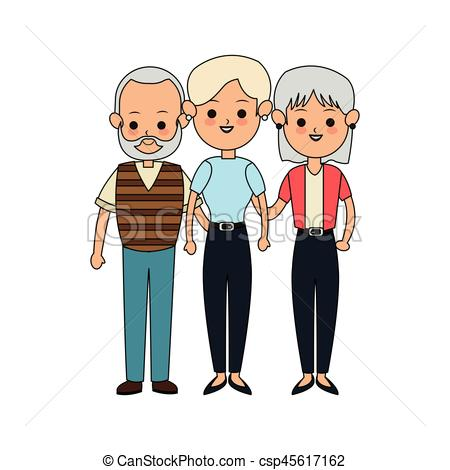 450x470 People Or Family Members Icon Image Vector Illustration Clip