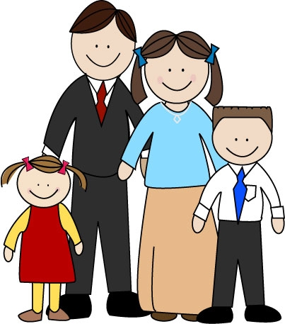 403x457 Clipart Of A Family Clipart Family Members Free Clipart Images 2