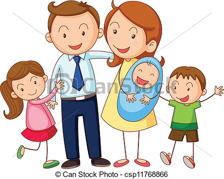 450x359 Family Images Clip Art Big Family Clipart 10