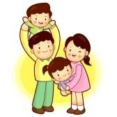 168x168 Asian Family Members Clip Art