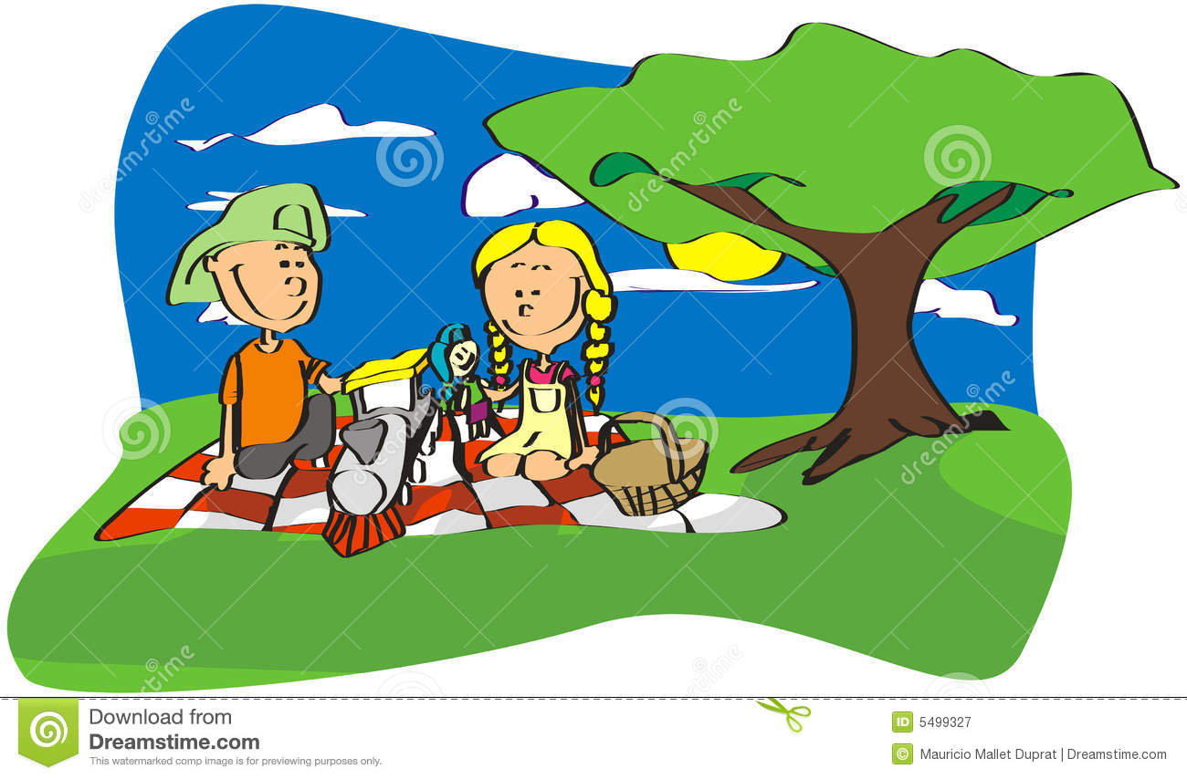 1300x854 Picnic In The Park Clipart