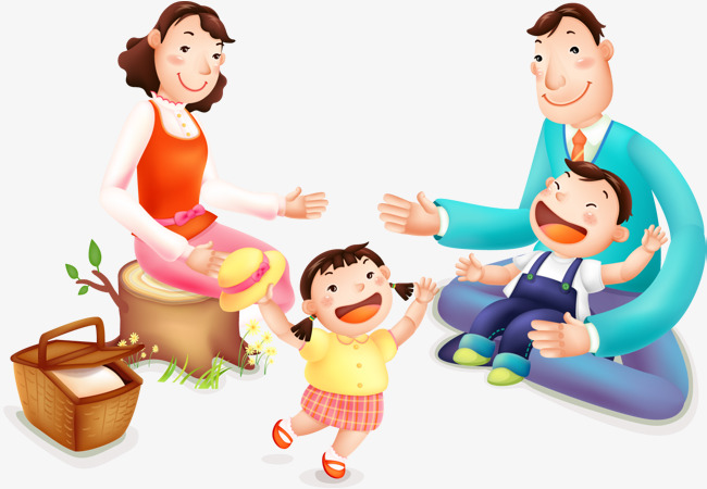 650x450 Vector Picnic Family, Picnic, Family, Ching Ming Outing Png Image