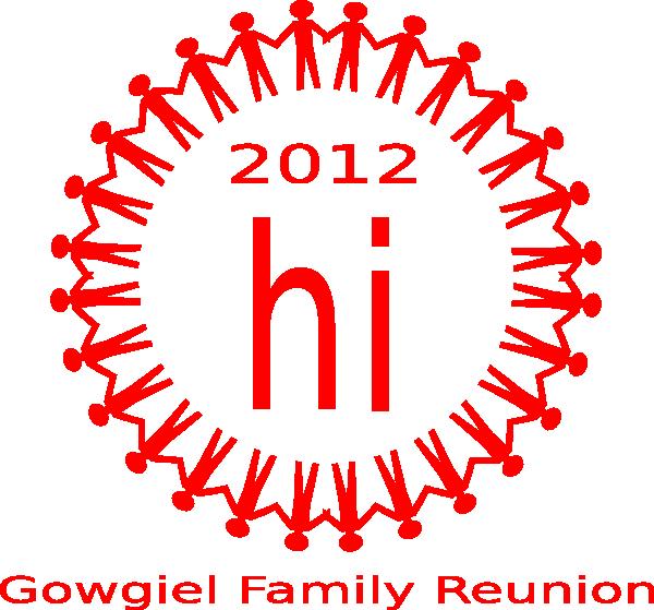 600x559 Family Reunion Art Clip Art