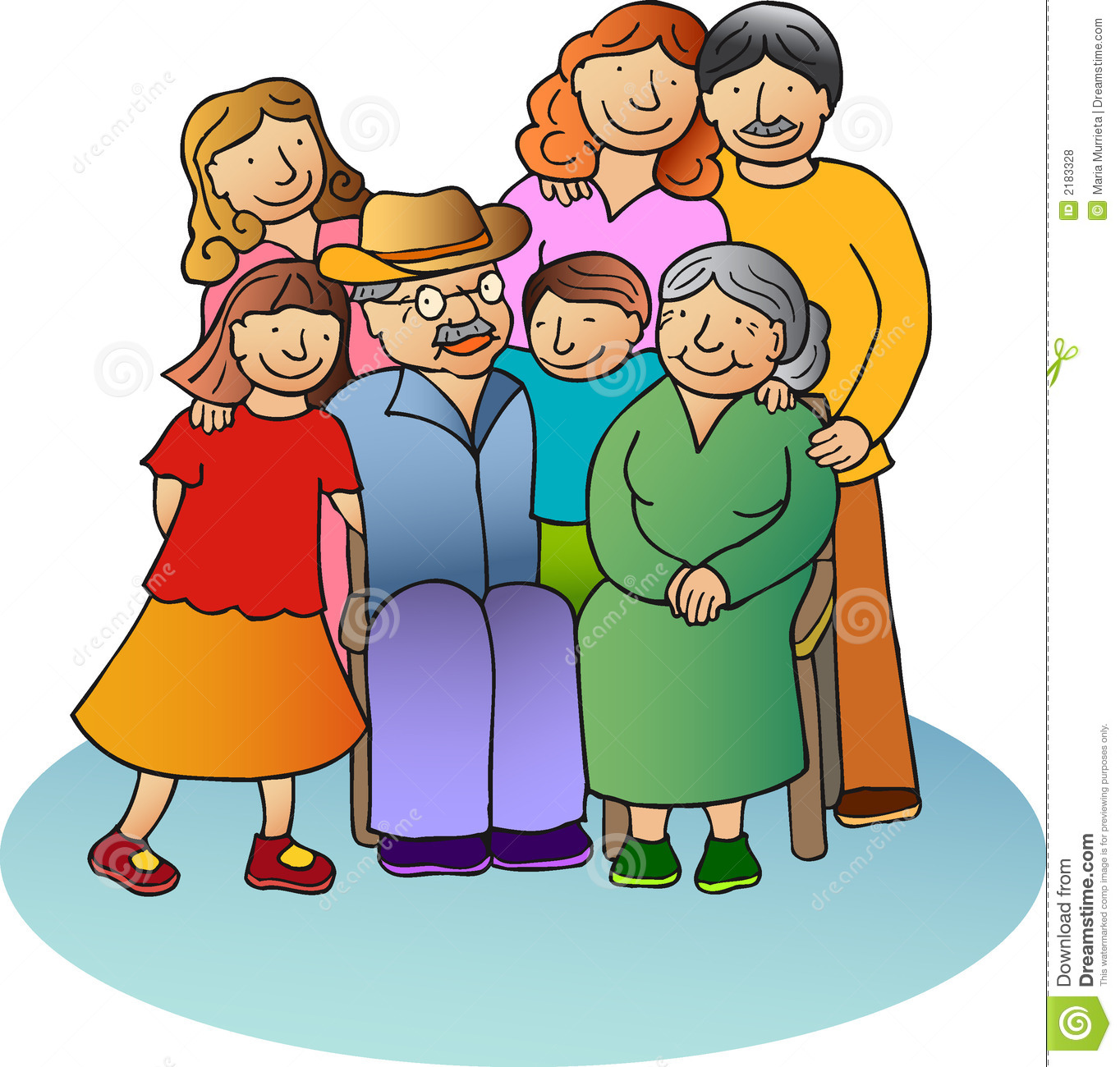 1364x1300 Collection Of Family With Grandparents Clipart High Quality