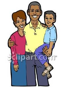 225x300 African American Clipart Family Free