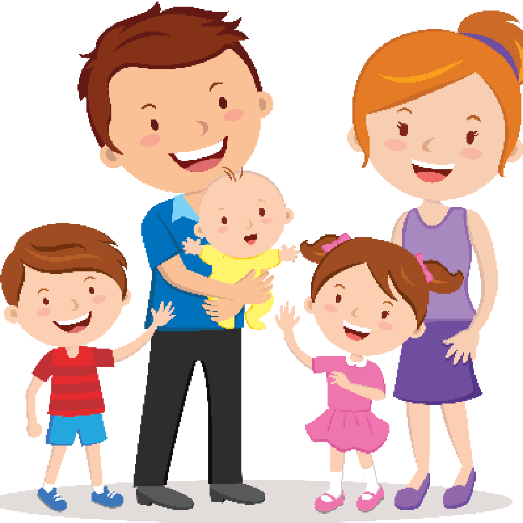 1024x1024 Clipart Of Family
