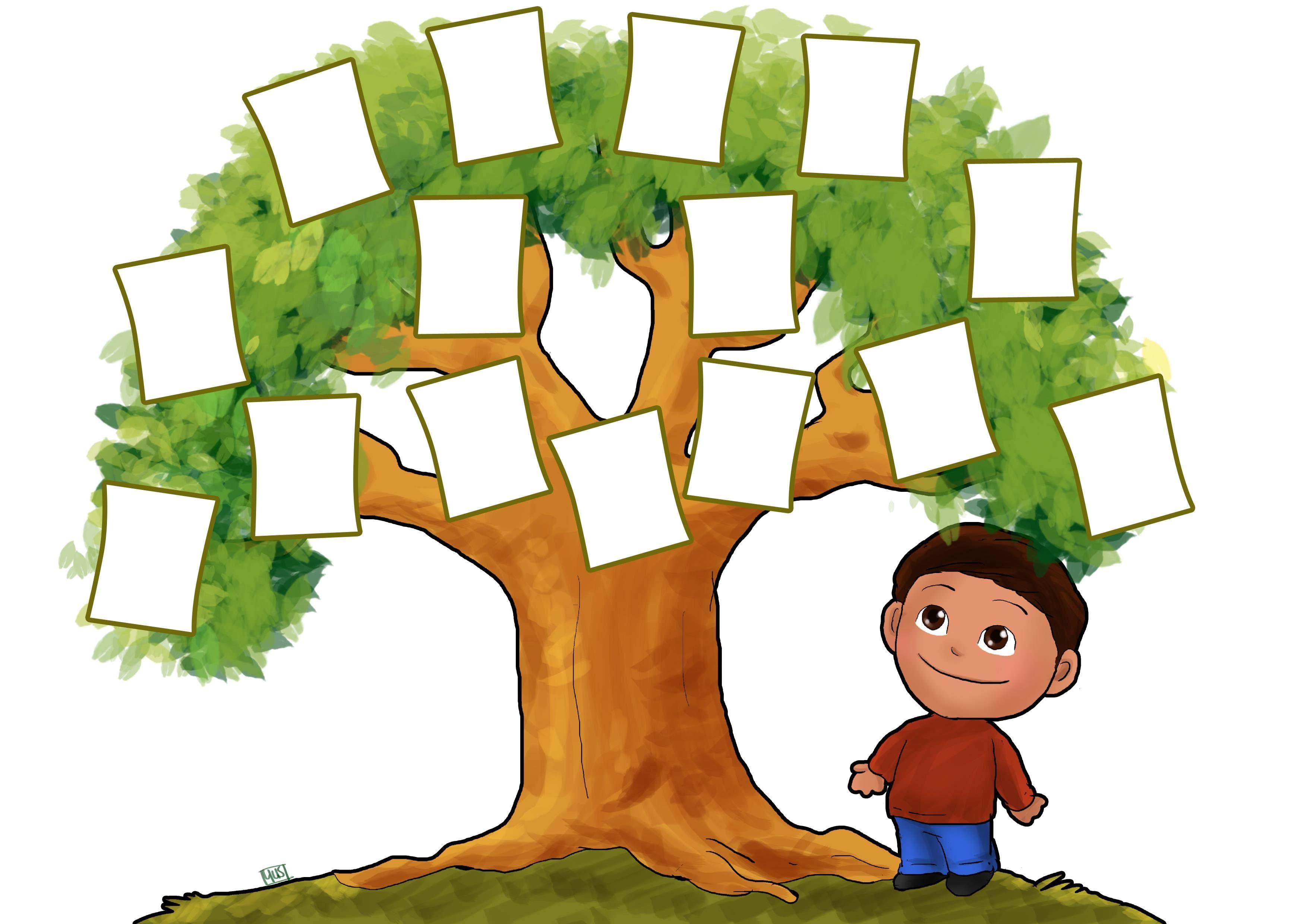 3507x2480 Family Tree Clip Art Mi Familia Tree
