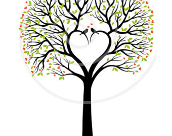 340x270 Collection Of Heart Tree Clipart High Quality, Free Cliparts