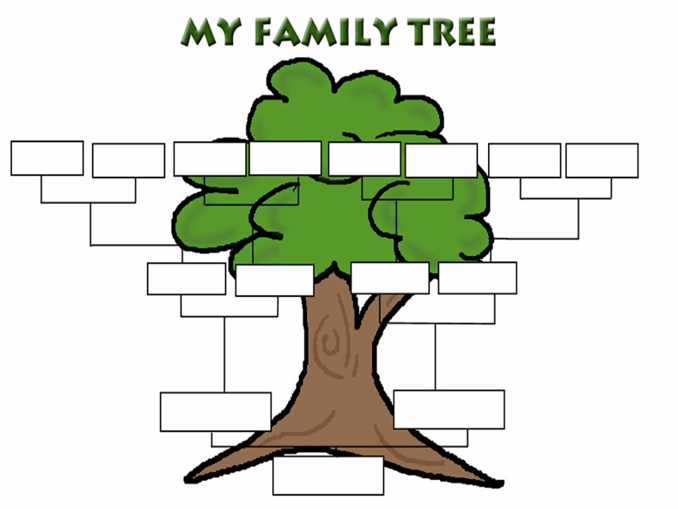 Family Tree Clipart At Getdrawings Free For Personal Use