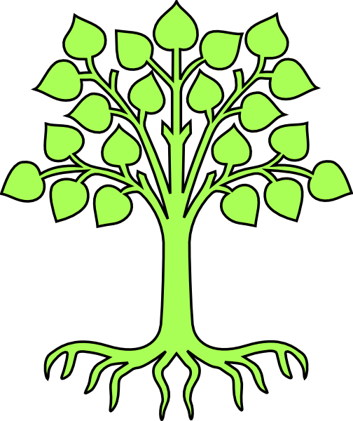 504x600 Free Family Tree Clipart Pictures