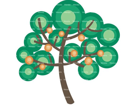 570x453 Items Similar To Family Tree Clip Art Digital Clipart