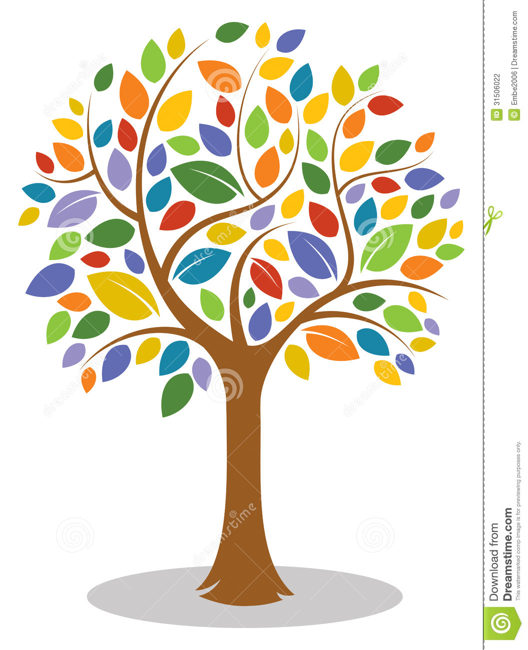 1055x1300 Pictures Colorful Tree Clip Art,