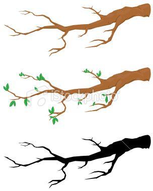 304x380 Fancy Tree Branch Clip Art