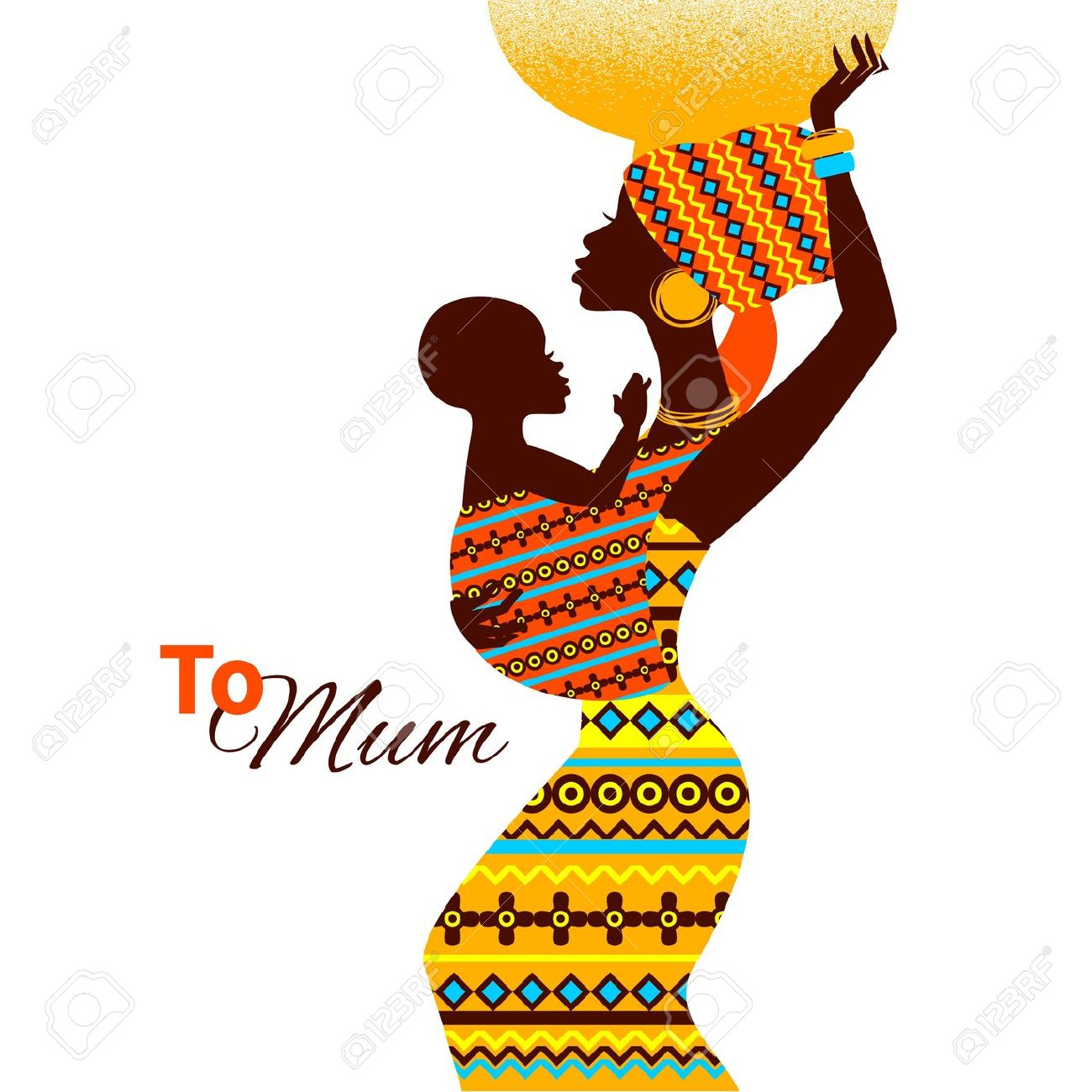 1300x1300 Africa Clipart African Child