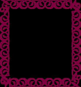 276x298 Fancy Border Clip Art