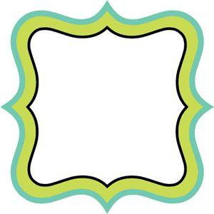 300x300 Templates Clipart Plaque Shape