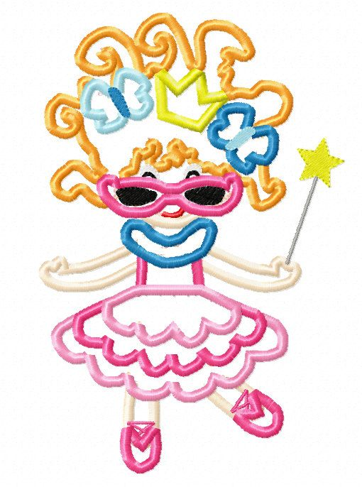510x686 Fancy Nancy Applique Machine Embroidery By Embroideringqueen
