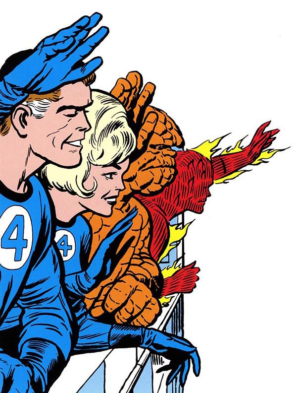 Fantastic Four Clipart
