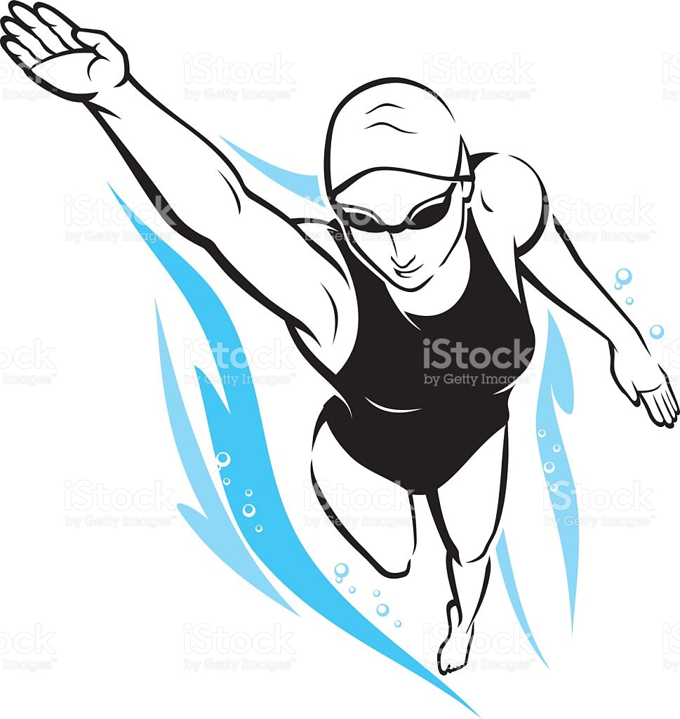 969x1024 Breaststroke Clipart