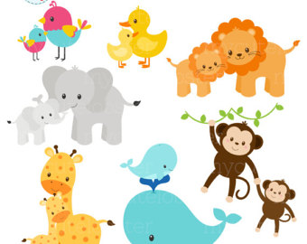 340x270 Animals Clipart Set Animals Png Clipart Animals Clipart