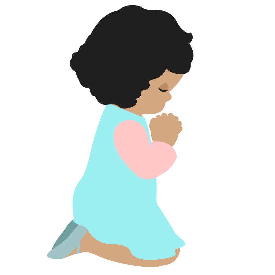 948x948 Child Praying Clipart House