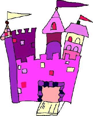 323x400 Fairy Tale Castles Clipart