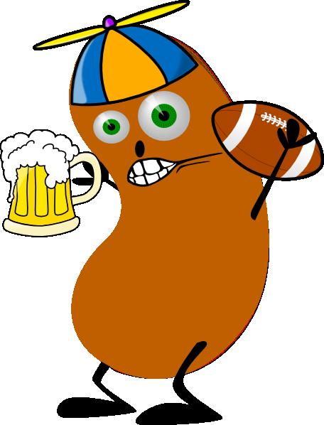456x598 Fantasy Football Bean Clip Art