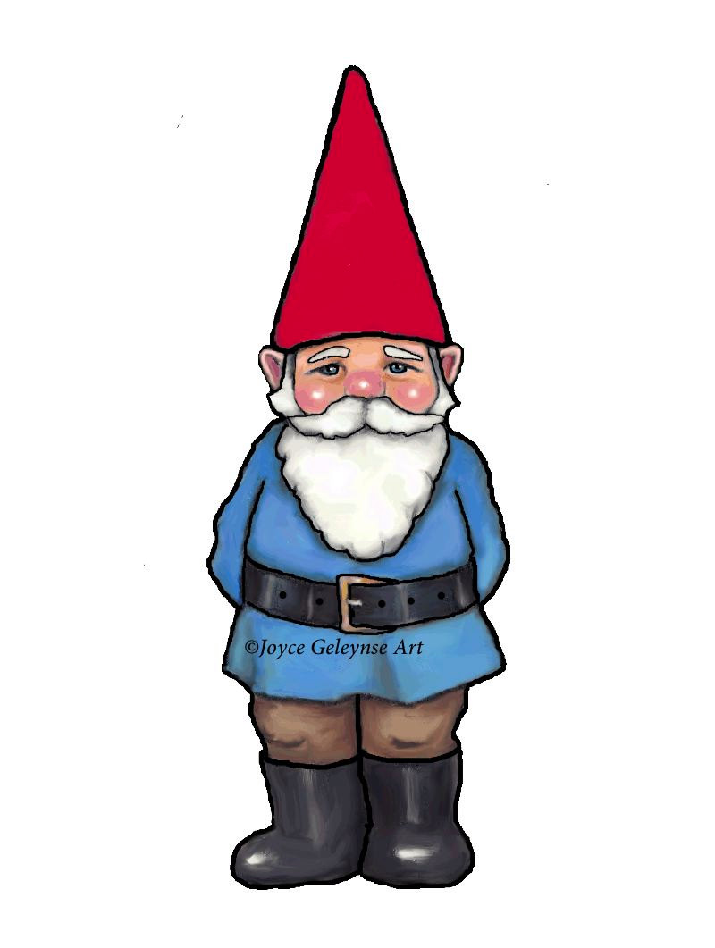 800x1061 Gnome Clipart, Hand Drawn Clipart, Commercial Use, Ooak Clipart