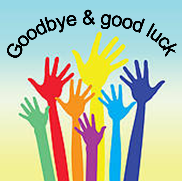 590x587 Clipart Farewell Goodbye Farewell Good Luck Clipart A Big Well