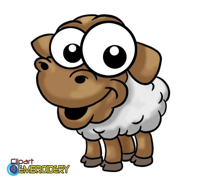 659x600 Farm Animal Clipart
