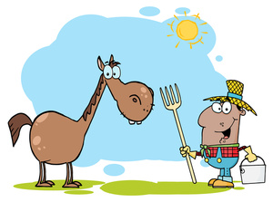 300x223 Free Farm Animal Clipart Image 0521 1011 0114 4750 Horse Clipart