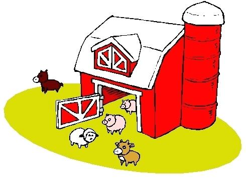 490x358 Free Farm Clip Art Info Vintage Farm Animal Clipart Free