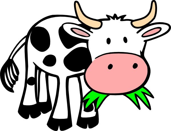 600x461 7 Best Moo Images On Cow, Farm Animals And Cow Clipart