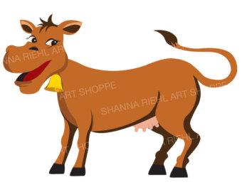 340x270 Watercolor Farm Animals Clipart Farm Clip Art