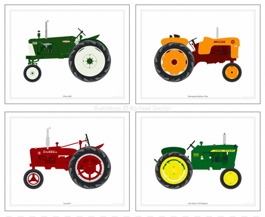 900x740 Tractor Farmall John Deere Drawing Clip Art