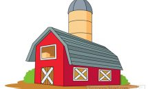 Farm House Clipart