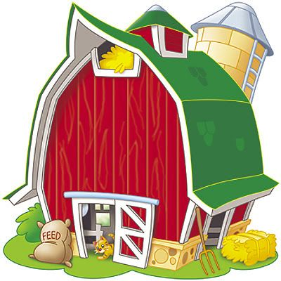 Farm Scene Clipart