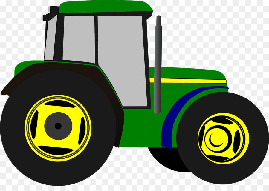 900x640 John Deere Tractor Agriculture Clip Art