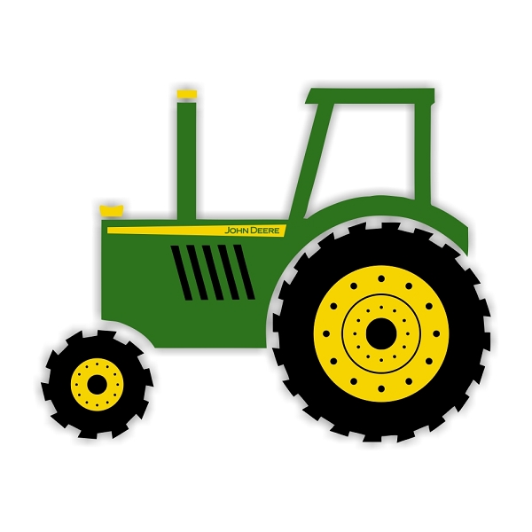 600x600 John Deere Farm Tractor Clipart Download Free Images In Png