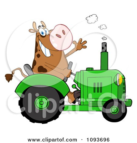 450x470 Royalty Free Stock Illustrations Of Tractors By Hit Toon Page 1