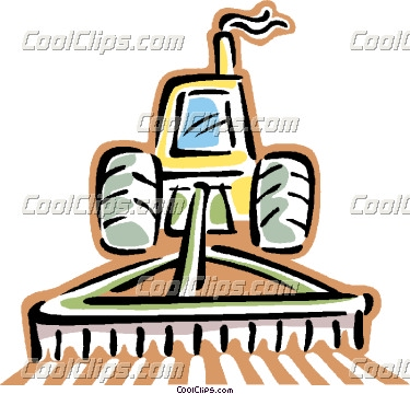 375x360 Tractor Clipart Plow