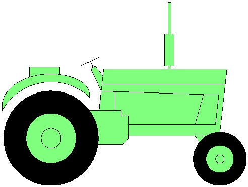 492x370 Tractor Colouring Page. Agricultura Agriculture Arado Farming Plow