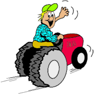 300x300 Farm Tractor Clipart Group