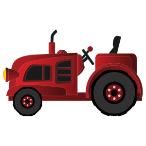 300x300 Farm Tractor Png Clipart