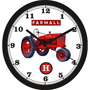 350x350 Farmall H Tractor Wall Clock Free Usa Ship Home
