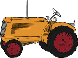 300x223 Antique Tractor Clip Art
