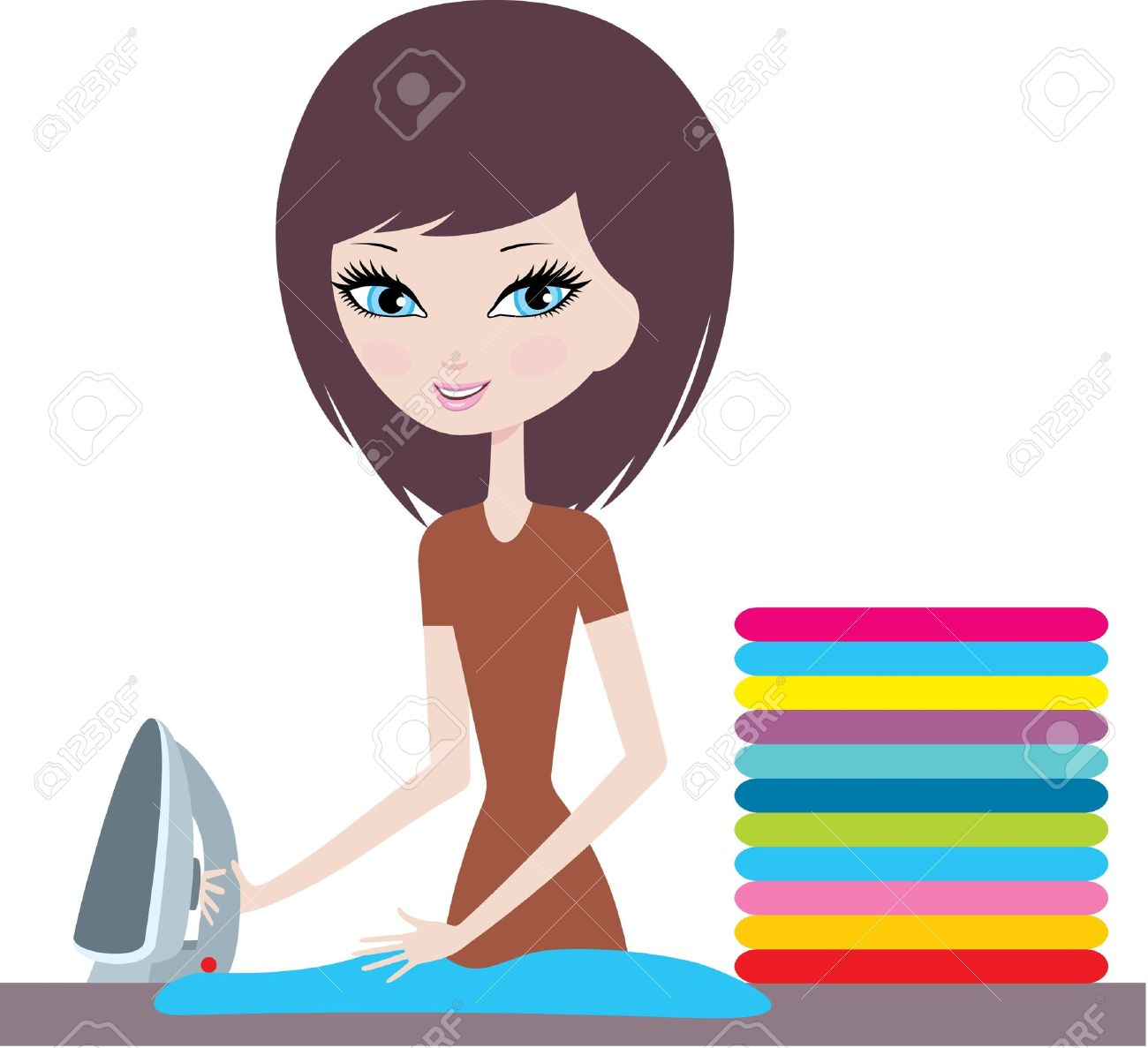 1300x1187 Mother Ironing Clothes Clipart 3 Clipart Station