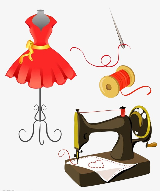 650x775 Sewing Machine Clipart Sewing Clothes 3893075