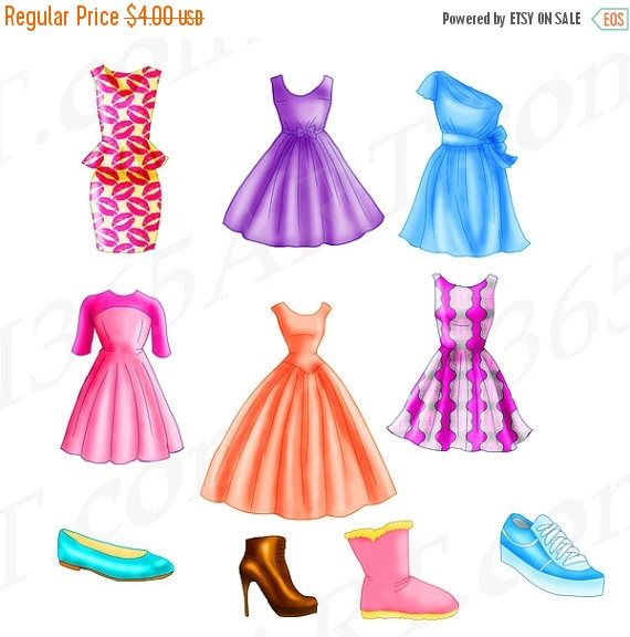 570x576 Chic Dress Clipart, Fashion Clipart, Flats, Shoe, Boot, Clothing