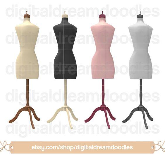 564x544 Dress Form Clipart, Dress Form Clip Art, Dressform Sew Art, Sewing